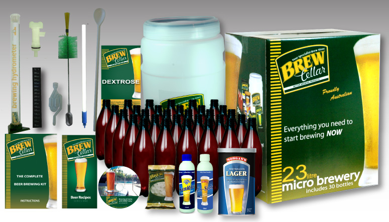 BREW Cellar Starter Kit with NEW DVD