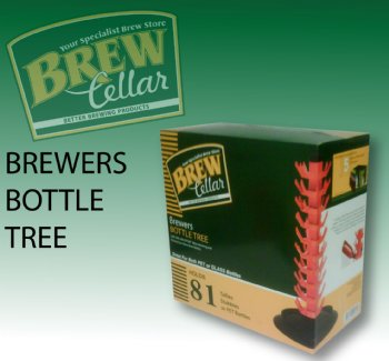 Bottle Tree Boxed in Carton (Holds 81)