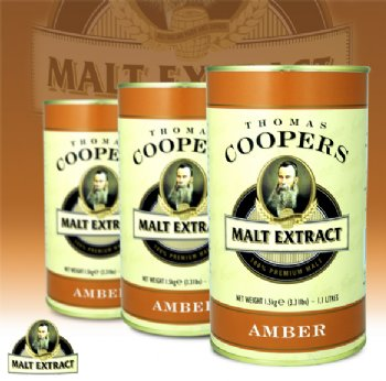 Coopers Amber Malt Extract 1.5kg