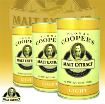 Coopers Light Malt Extract 1.5kg