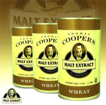 Coopers Wheat Malt Extract 1.5kg