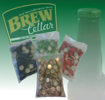 Crown Seals (Packet of 250) Gold