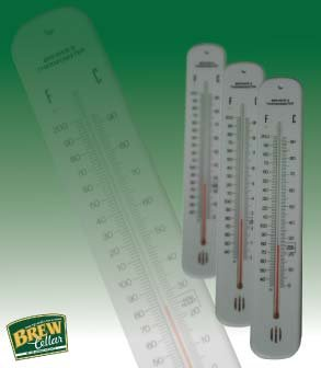 Thermometer Plastic Backed
