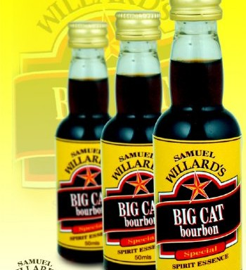 Samuel Willards Gold Star Big Cat Bourbon