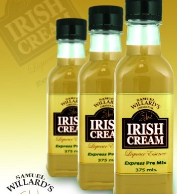 Willards Express PreMix Irish Cream