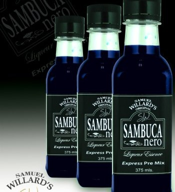 Willards Express PreMix Sambucca Nero